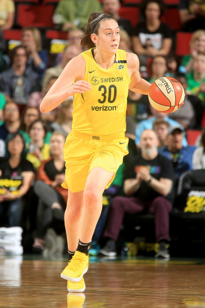 The Games (and Shoes) That Made Breanna Stewart's MVP Season
