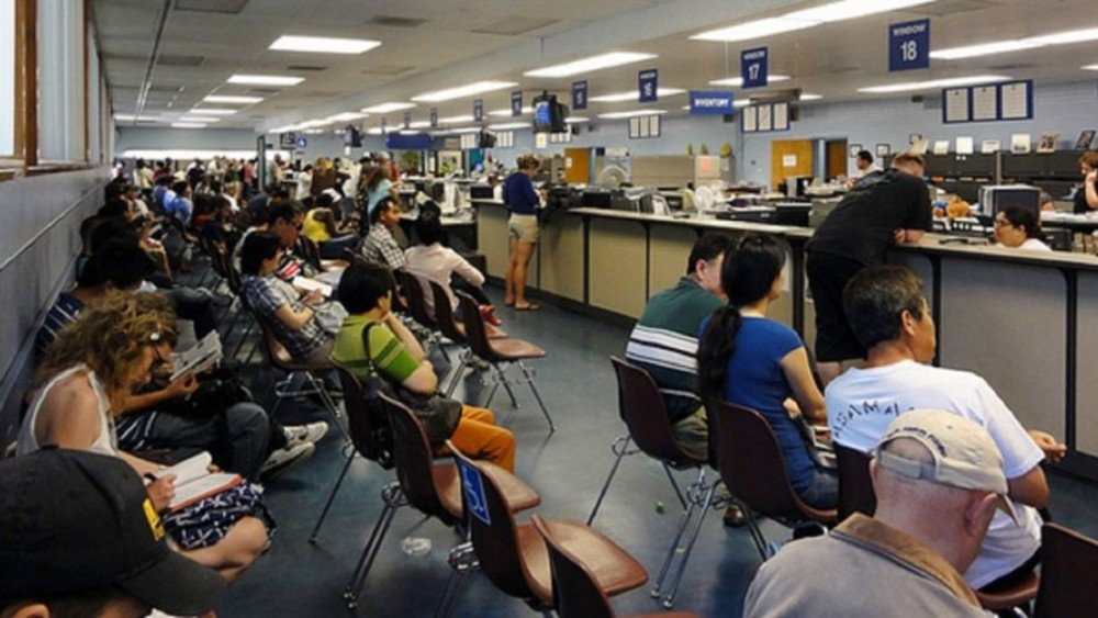 A California DMV worker reportedly slept for three hours a day on the job  for nearly